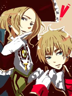 France and England as pirates from Hetalia