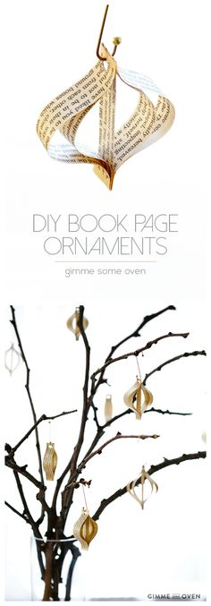 DIY (Easy!) Book Pag