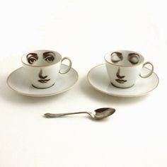 Set of 2 Altered Porcelain Coffee Espresso by MoreThanPorcelain, €45.00