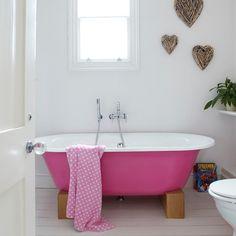 .pink tub