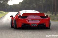 #Ferrari #Ferrari458 #Italia Liberty Walk Performance
