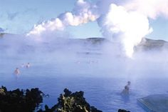 The Blue Lagoon, geothermal spa