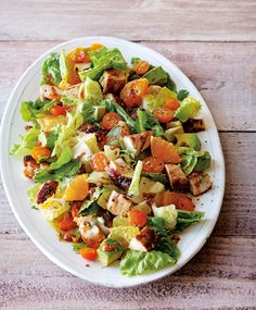 Chopped Salad with Chicken, Citrus & Avocado - Williams-Sonoma Taste