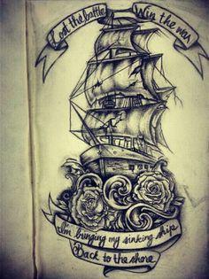 Fab ship tatt idea