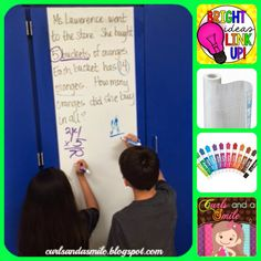 Curls and a Smile: Bright Ideas- Writing on the Walls!