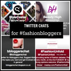 Five Twitter Chats Every Fashion & Beauty Blogger Should Know – Style Context