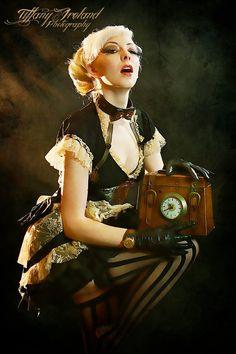 SteamPunk Lady. by IamLizbit.deviantart.com