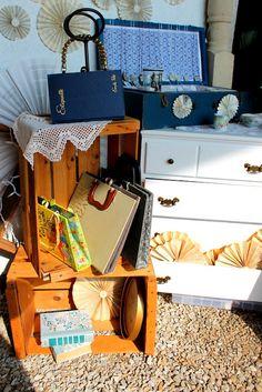 larking and Ex Libris Purses at Na-Da Farm Barn Sale