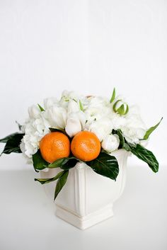 How to use fruit in flower arrangements