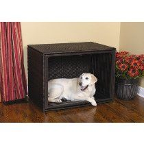"Side Load Pet Residence Size: Small (21"" H x 24"" W x 18"" D), Color: Espresso"