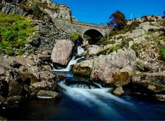 Taken at Bethesda on the River Ogwen on the edge of Snowdonia, in Gwynedd, north Wales