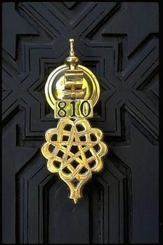 Morocco door knocker