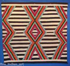 Navajo Indian Third Phase Chief Pattern Blanket-*-*-3350.bin american rug, nativ american, native american indians, patterns, chief blanket, blankets, navaho rug, rugssouthwest textil, navajo rugssouthwest