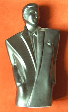 Art Deco Bust  -. Young Man