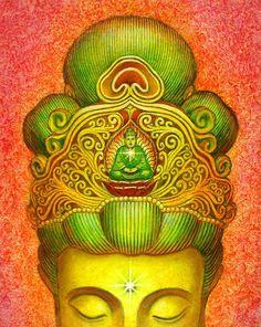 Kuan Yin Buddha Crown