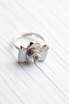 White Camera Ring
