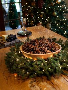 The richness of the colors in the Norway Spruce wreath will accent the colors of any home.