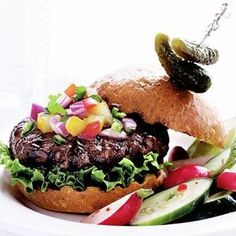 Grilled All-American Burgers