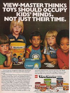 View-Master ad, 1980