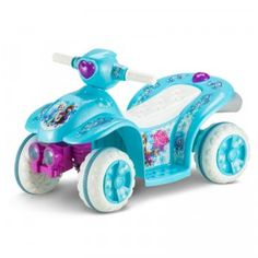 The Disney Frozen Toddler Quad ride-on lets kids pretend to be on an adventure with Elsa and Anna.