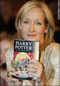 JK Rowling - author of Harry Potter