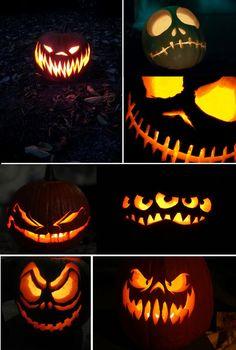 jack o lantern cat face