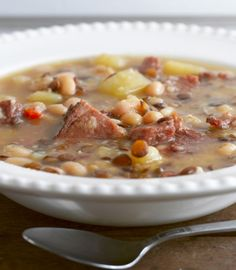 Smoked Ham and White Bean Soup