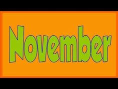 Months Of The Year Song