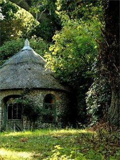 old homes, secret gardens, stone cottages, dream, hobbit houses
