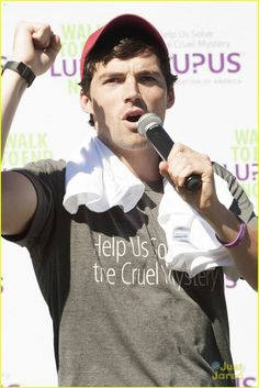 "Ian Harding: #Lupus Foundation Walk 2013 || An actor best known for his role in the show ""Pretty Little Liars"". A  celebrity and an active supporter of the campaign to find a cure for lupus."