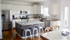 makeov reveal, idea, kitchen makeovers, oak cabinet, kitchen remodel, white cabinets, kitchen cabinets, white kitchens, painting cabinets