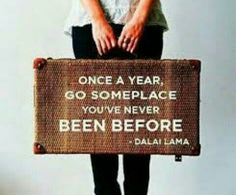 Lovely travel quote ♡