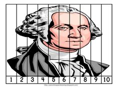Free Presidents Day Number Order and Skip Counting Puzzles