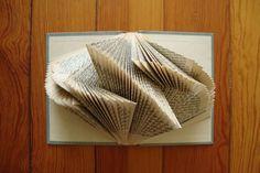 books, book art, bookart, fold book, book folding, paper art, betsi, librari, book sculpture how to