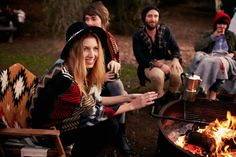 Camping Photo Shoot Inspiration | I ♥ SF