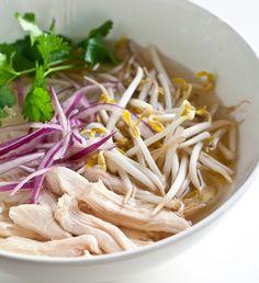 Vietnamese Chicken Pho Ga Noodle Soup Recipe - Slow Cooker | Steamy Kitchen Recipes