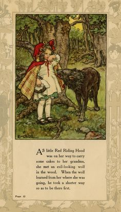 Red Riding Hood ~ From the Texas Collection, Baylor University