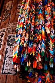 1000 Paper Cranes: An ancient Japanese legend promises that anyone who folds a thousand origami cranes will be granted a wish by a crane.