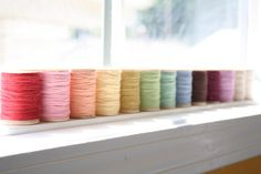 Hey, I found this really awesome Etsy listing at http://www.etsy.com/listing/100978386/solid-bakers-twine-multi-set-50-yard
