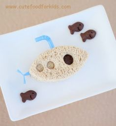 Cute Food For Kids?: Sandwich Sub