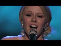 Hollie Cavanagh singing Reflection - absolutley beautiful performance!