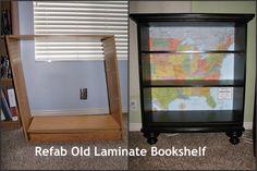 book shelf, lamin book