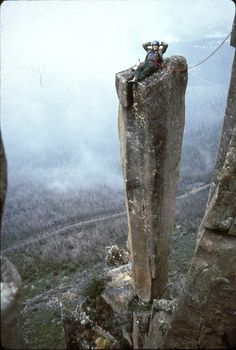 1974: One day on the Organ Pipes Mt. Wellington Tasmania