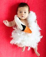 Homemade Costumes for Babies - Costume Works (page 2/13) diy costumes, halloween costumes, babi bjork, dresses, baby costumes, bjorkswan, bjork swan, swan dress, kid