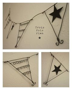 wire pennant banner