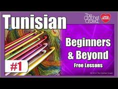 Lesson 1: Tunisian Crochet - Overview & Tips