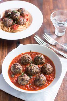 Spicy Turkey Meatballs with Veggies - Primavera Kitchen