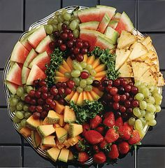 fruit tray idea