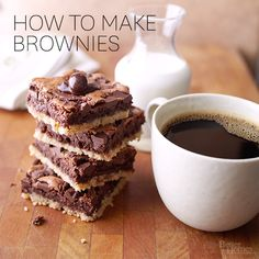 Find our easiest way to make rich brownies with this how to: http://www.bhg.com/recipes/how-to/bake/how-to-make-brownies/?socsrc=bhgpin081514howtomakebrownies