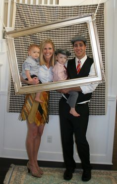 Great idea for a picture booth at school  Little man themed party. Click on the link to see all the cute decorations.  I love that the mother made her skirt out of ties!